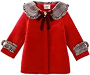 YYA Baby Girls Spring Autumn Windbreaker