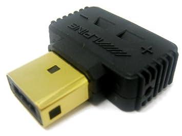 Oro Alpine altavoz conector enchufe para Alpine PDX amplificadores de la serie: Amazon.es: Electrónica