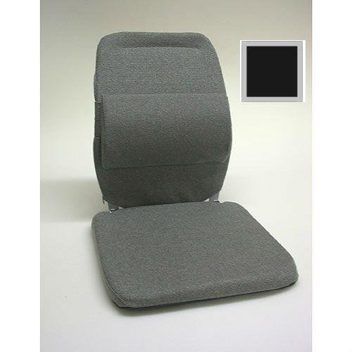 - Deluxe Model Lumbar Car Seat Support Cushion - Black - Width - 19 in. (Sacro Ease Model)