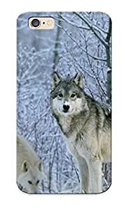 GqwZRyg809IIcDP Case Cover Wolfs In Winter Compatible With Iphone 6 Protective Case