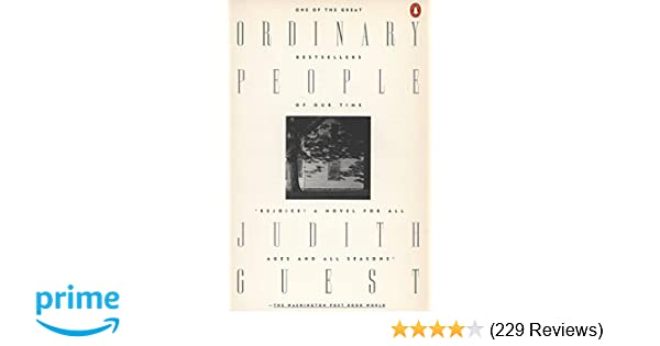 1fcb47b79df Amazon.com  Ordinary People (9780140065176)  Judith Guest  Books