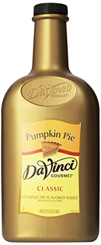 (DaVinci Gourmet Sauce, Pumpkin Pie, 64 Ounce Bottle)