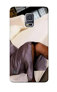 Case Provided For Galaxy S5 Protector Case Woman Girl Beauty Nice Face Blonde Bed High Heels Phone Cover With Appearance