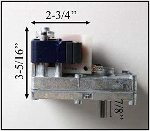 Rotisserie Barbeque Motor - High Torque - High Heat! - 1 RPM - 100lbs+ Capacity
