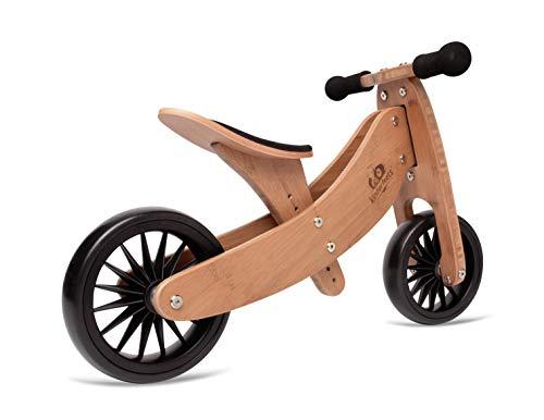 Kinderfeets, Tiny Tot PLUS Balance Bike, 18 - 48 Months - Bamboo]()