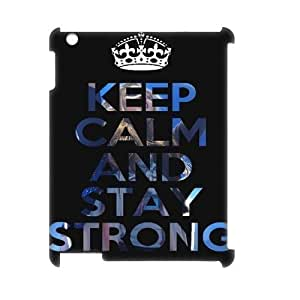 DIY High Quality Case for Ipad 2,3,4 3D, Stay Strong Phone Case - HL-R656201
