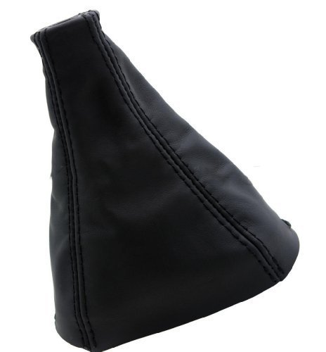 DSV Fits 2005-2010 Chevrolet Cobalt LS LT Real Black Leather Manual Shift Boot (Leather Part Only)