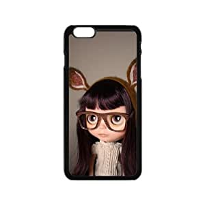 iPhone 6 Case, [Doll] iPhone 6 (4.7) Case Custom Durable Case Cover for iPhone6 TPU case(Laser Technology)