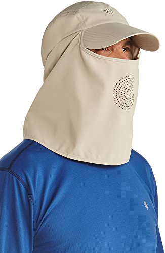Coolibar UPF 50+ Men's Ultra Sport Hat - Sun Protective (Large/X-Large- - Long Faces With Men