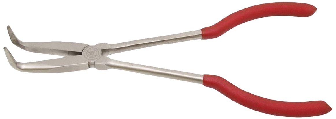Kraftmann 412 - Alicates de telé fono, doblados 90 grados, extra largo, 280 mm