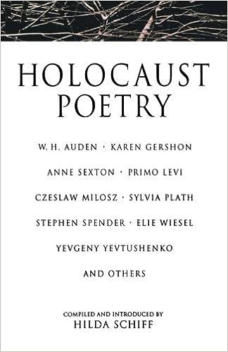 Holocaust Poetry: Hilda Schiff: 9780312143572: Amazon.com: Books