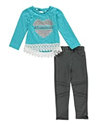 """Real Love Big Girls' """"Glittering Fashionista"""" 2-Piece Outfit"""