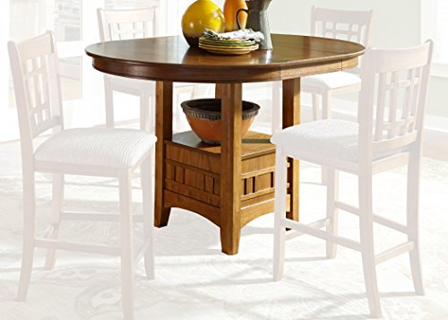 Mission Oak Oak Pub Table - Liberty Furniture 25-CD-Pub Santa Rosa Rub Dining Pub Table, 48