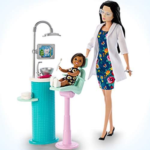 Barbie Dentist Doll & Playset, Black Hair (Barbie Doll Black Hair)