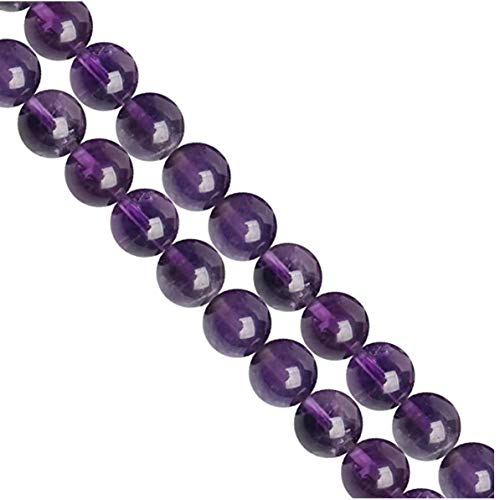 AAA Synthetic Amethyst Gemstone Loose Round Beads 4mm Spacer Beads For Jewelry Making 15.5