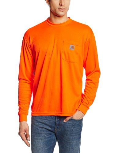 6bee0ce97f09 Carhartt Men s High-Visibility Color Enhanced Long Sleeve Tee - Buy ...