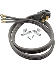 Supplying Demand 3 Wire Range Oven Cord 50-AMP 250 Volts 8 AWG Wire Compatible with All Major Residential Appliance Brands (5 Foot)