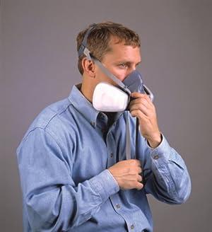Respirador 3M 7501/37081 de media cara reusable, small