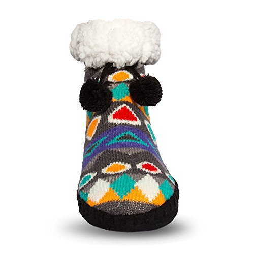 Amazon.com  Pudus Classic-Sole Slipper Socks 582c3bf12707