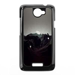 HTC One X Cell Phone Case Black al25 saugen etude illust artSLI_846374
