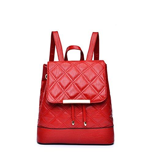 G-AVERIL GA1170-H - Bolso mochila  para mujer rojo Red Red