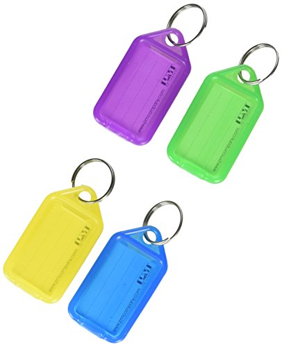 Extra Color-Coded Key Tags for Key Tag Rack