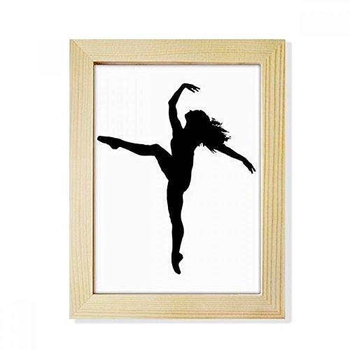 DIYthinker Dance Sports Dancer Performance Art Desktop Wooden Photo Frame Picture Art Painting 6x8 inch by DIYthinker