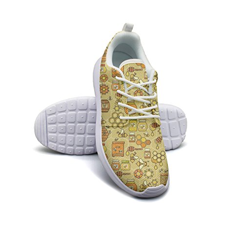 Shoes 10 Bee Lightweight Honey Product Beekeeping Womens Running size xw7gwHqC
