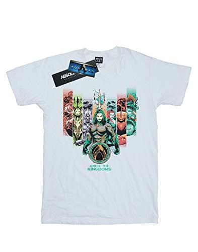 The Dc Unite Blanc Homme T Aquaman Comics Kingdoms shirt wqpOAFgS