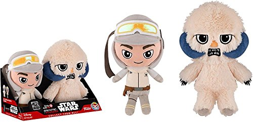 Hoth Luke Skywalker - Galactic Plushies Wampa & Luke Skywalker (Hoth) GameStop Exclusive