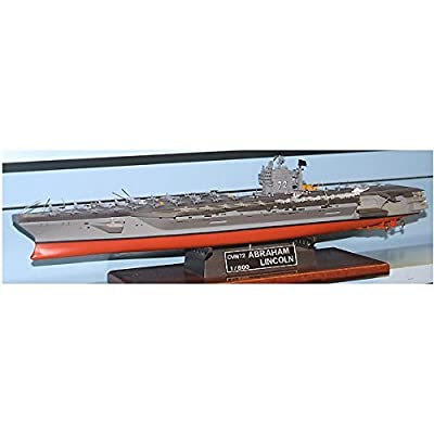 Arii-16 618165 USS Aircraft Carrier Lincoln CVN-72 1/800 scale kit (Microace)