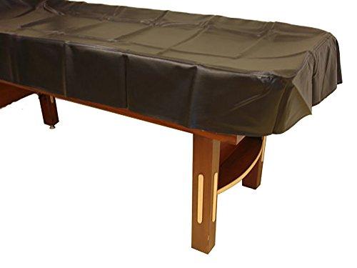 14' Shuffleboard Table Cover - Black Championship Shuffleboard Table