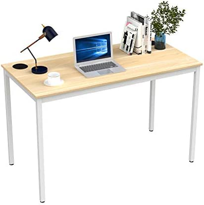 It's_Organized Computer Desk 47 Inch Home Office Study Writing Desk,Modern Simple Laptop Computer Table