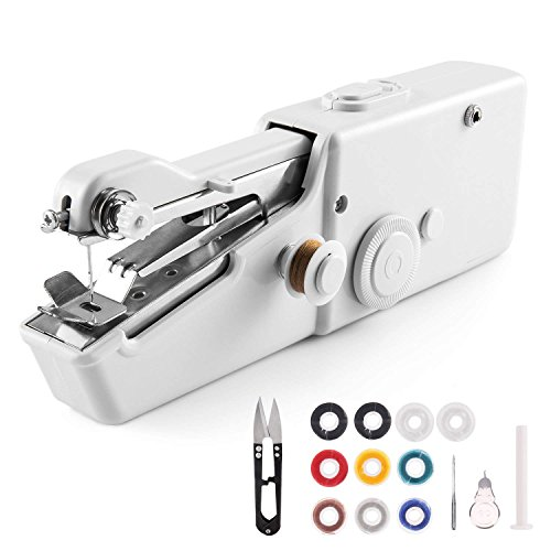 Best Price Handheld Sewing Machine, Mini Cordless Handheld Electric Sewing Machine, Quick Handy Stit...