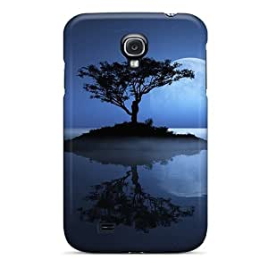 Anti-scratch And Shatterproof Moon Phone Case For Galaxy S4/ High Quality Tpu Case