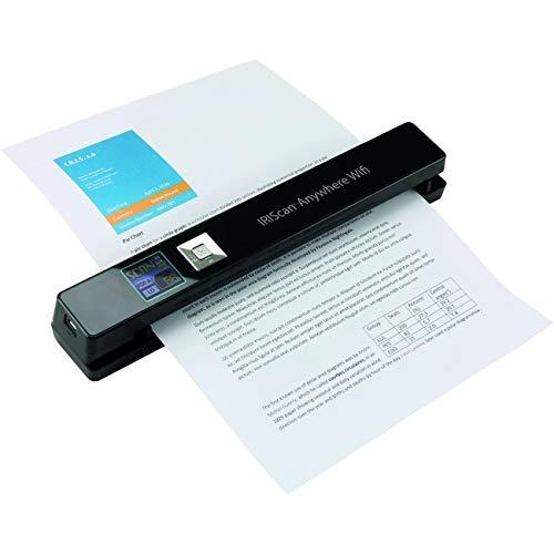 IRIS IRIScan Anywhere 5 Wifi Wireless Portable Scanner Black 458846