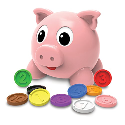 The Learning Journey: Learn with Me, Numbers and Colors Pig E Bank ()
