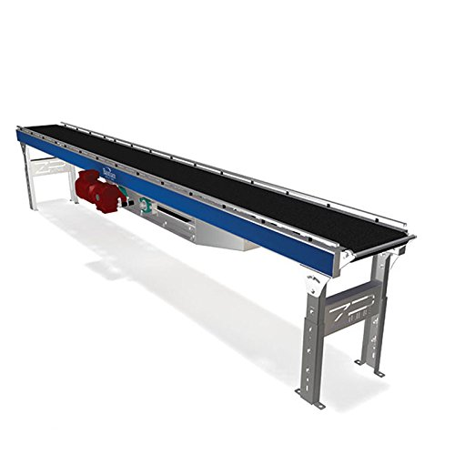 Bastian-Solutions-BRBAC-15-24-ZiPline-Belt-Over-Roller-Conveyor-AC-Motor-Driven-15-Length-x-24-Width