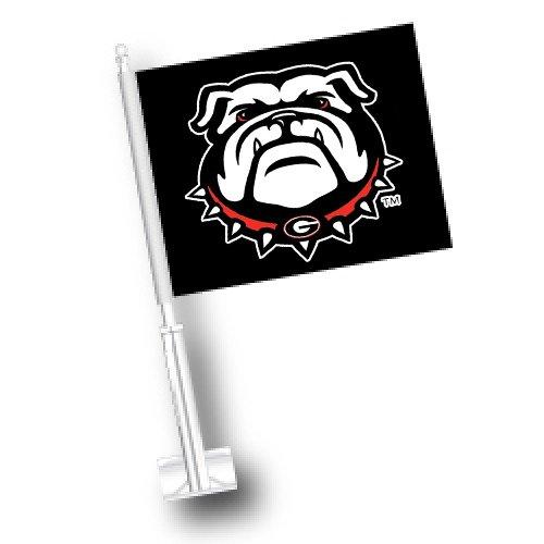 NCAA Georgia Bulldogs Car Flag Set of 2 ETC