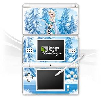 Deindesign Skin Kompatibel Mit Nintendo Ds Lite Aufkleber Sticker Folie Disney Frozen Elsa Olaf Geschenke Merchandise