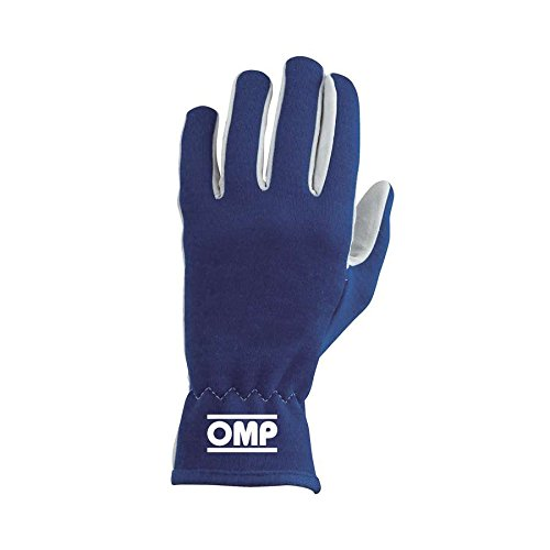 IB//702//B//L Rally Gloves, Blue, Large OMP