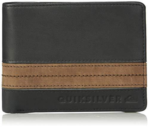 (Quiksilver Men's New Classical Plus III Wallet, Black, 1SZ)