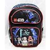 Full Size Black and Red Lego Star Wars Backpack