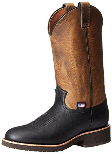 Chippewa Mens 12 Round Toe 29329 Pull Boot Brown