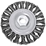 Century Drill 76048 Angle Grinder Wire Wheel 4'' Dia. Steel Knot