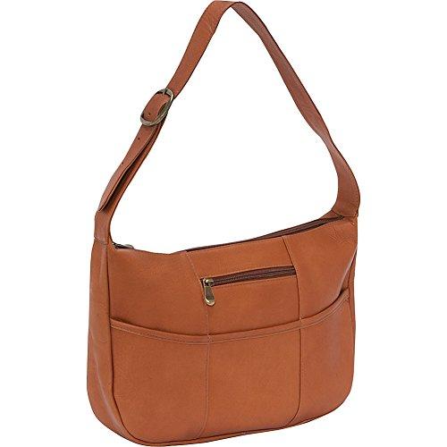 Le Donne Leather Quick Slip Shoulder Bag (Tan) (Vacquetta Leather Shoulder Bag)
