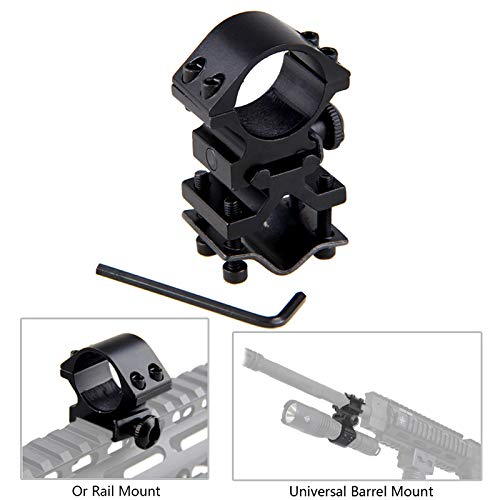 AE High Scope Mount Tactical Flashlight 25.4mm 1