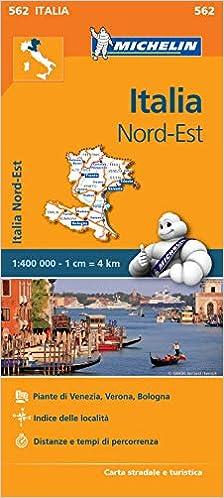 Cartina Geografica Italia Michelin.Amazon It Carta Stradale Italia Nord Est Aa Vv Libri