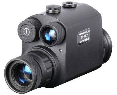 Night Optics USA Guardian 1X Gen 1+ Night Vision Monocular NM-112-1GX -