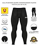 Hawk Sports Mens Compression Pants Base Layer